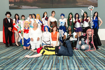 Animazement 2016 Sailor Moon (Sunday)