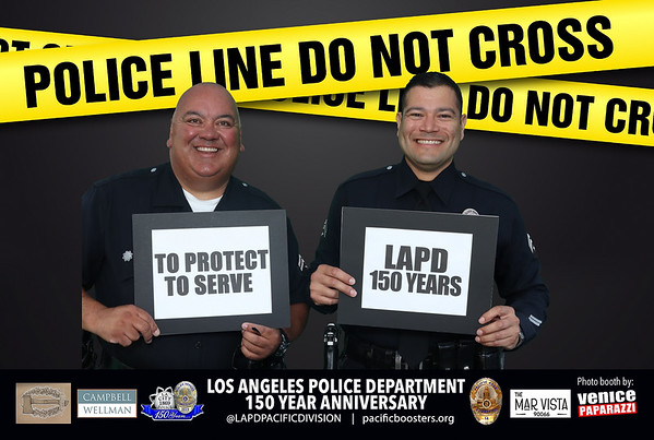 2019 LAPD - Venice Paparazzi photo booth