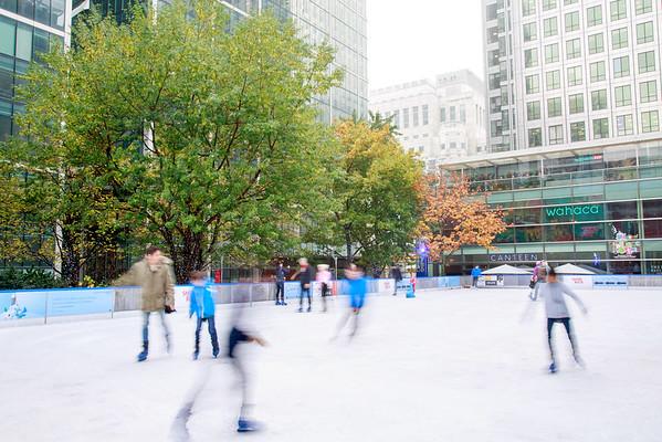 Wharf - ice rink