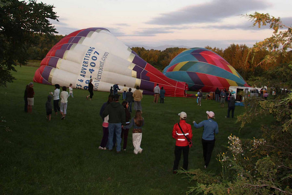 Vermont Balloon Rally at Shelburne Museum 2009