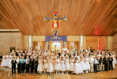 2013 - First Communion - Group Photo