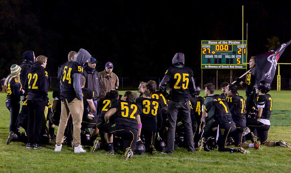 the Postgame Celebration: Vashon Island High School Football v Port Townsend