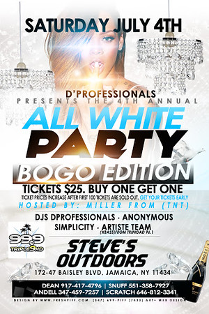07/04/15 D'Proffesionals All White