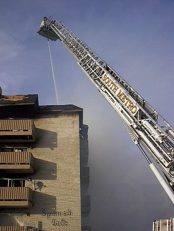Glendale Spanish Gate Fire