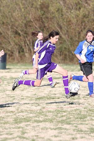 DMS Girls Soccer 2-24-09