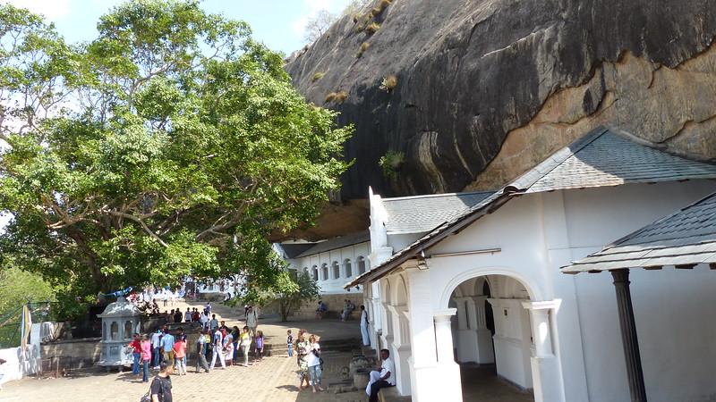 Rotstempel van Dambulla