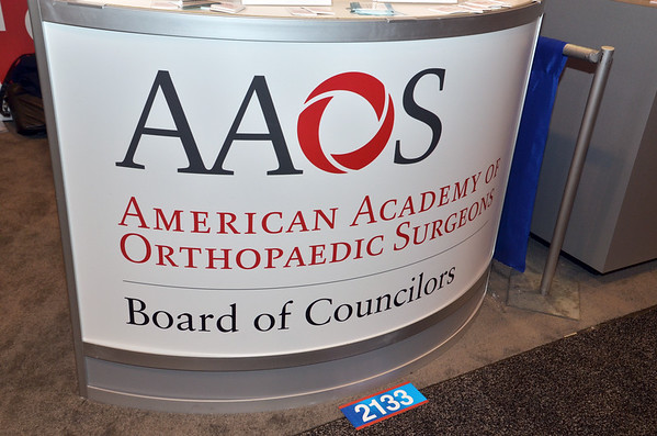 2016 AAOS BOC Booth