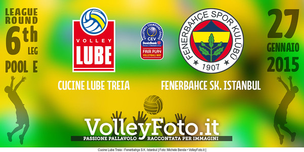 Cucine Lube Treia - Fenerbahçe S.K. Istanbul