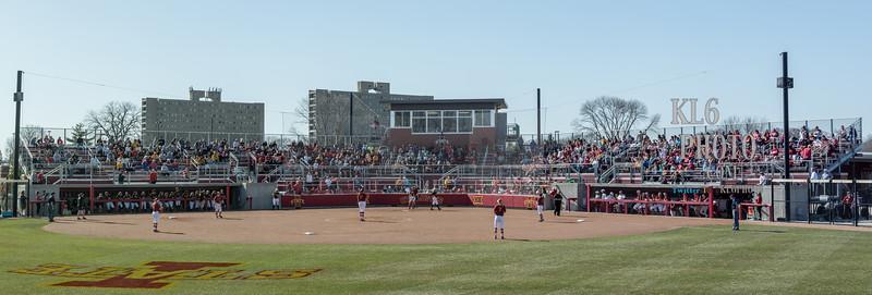 ISU Softball vs Iowa 04/25/18