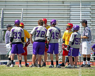 2011 LOUISIANA HIGH SCHOOL LACROSSE LEAGUE:  Br. Martin JV vs. Dutchtown JV.  Br. Martin wins.