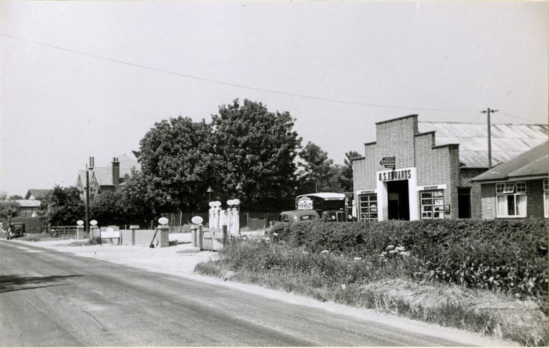 Old Spaldwick Garage