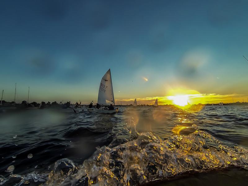 Photograph of Balboa Yacht Club's Twilight Regatta Series