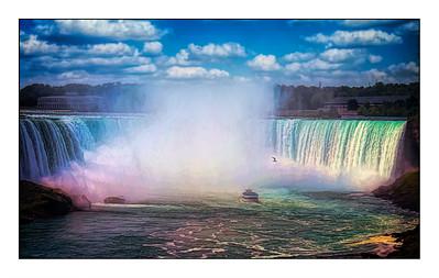 Niagara Falls - Canada - Over The Years.