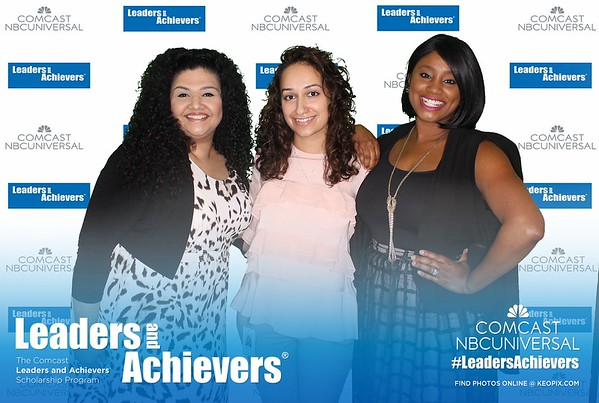6.9.2017 - Comcast - Leaders and Achievers Scholarship Luncheon