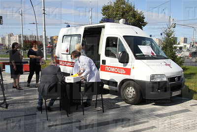 10.09.2019 Старт мероприятий по прививке горожан от гриппа (Александр Эшкинин)