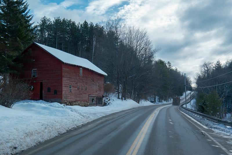 Vermont Barn Hwy 100