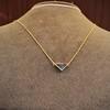 1.32ct Vintage Sapphire Bezel Necklace 17