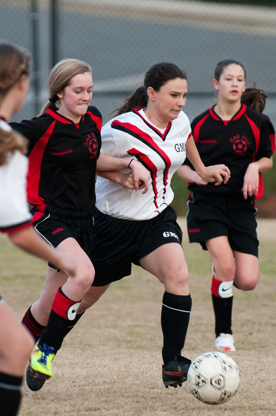 GMC MS girls soccer oakhill 2012