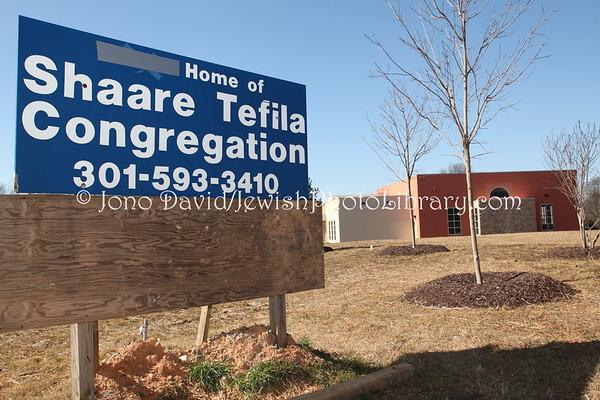 USA, Maryland, Olney. Shaare Tefila Congregation. (2.2012)