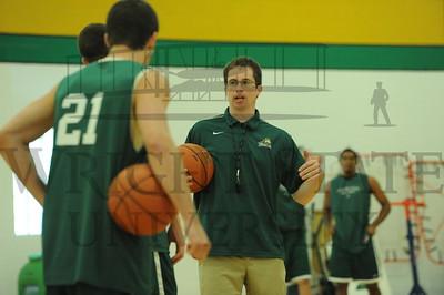7081 Mens Basketball Practice at Mills Morgan Pavillion 8-11-11