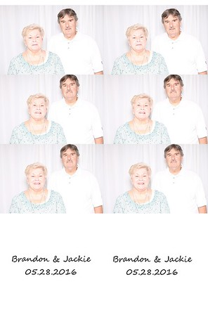 Jackie (Randulic) & Brandon Snyder Photo Booth 05/28/2016