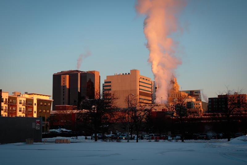 Sunrise on Rochester