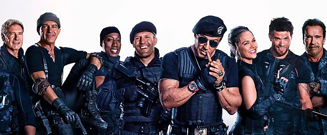 """. 3. �THE EXPENDABLES 3� <p>Leaked online, which isn�t surprising considering how many of its stars wear Depends. (unranked) </p><p><b><a href=\""""http://www.inquisitr.com/1417395/expendables-3-shoots-blanks-online-leak-to-blame/\"""" target=\""""_blank\""""> LINK </a></b> </p><p>   (Courtesy photo)</p>"""
