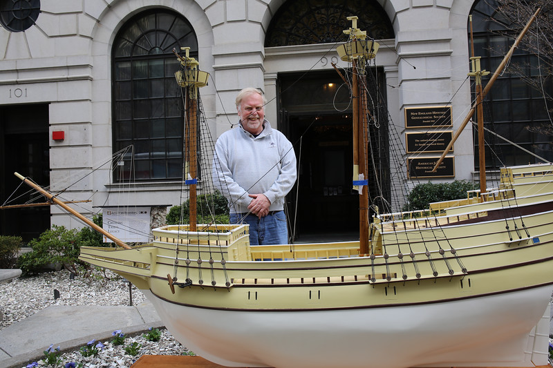 The Boston Mayflower and Its Builder