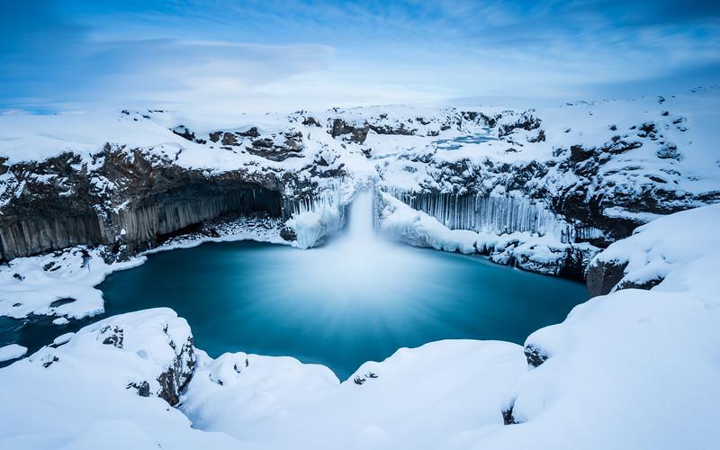 the magnificent Aldeyjarfoss   Ísland