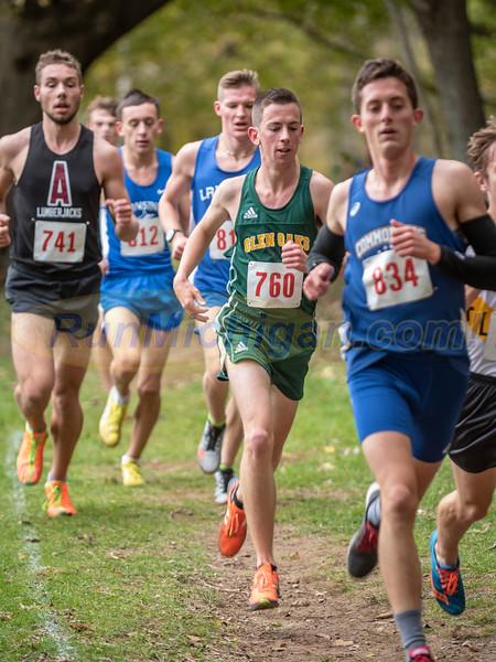 NJCAA XC Regional  2018 - Men's Race Mile 2