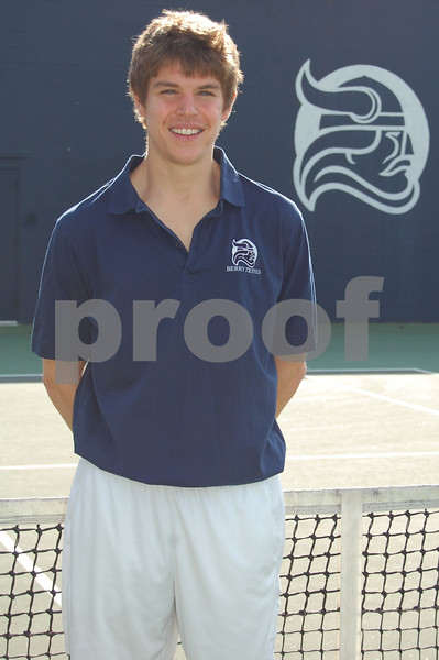 Men's Tennis Headshots