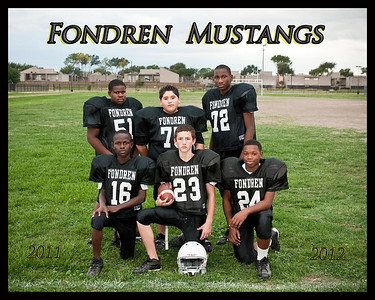 Fondren 2011-2012 Football Team