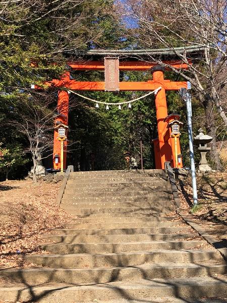 Shrine Torii Closer