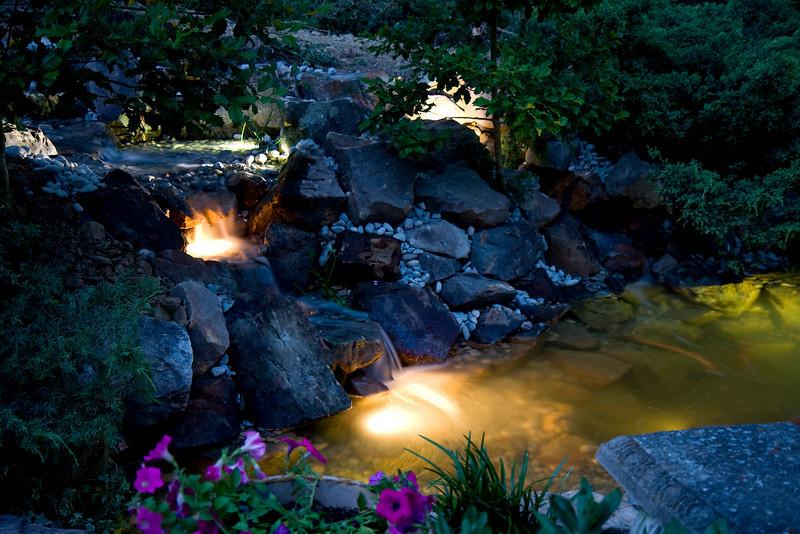 Parents' Renovated Pond