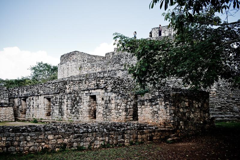 Oval Palace, Ek' Balam