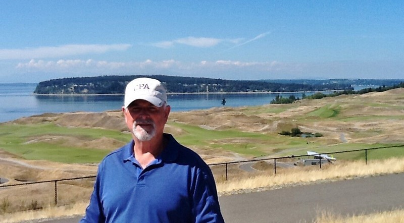 Charles Treat at Chambers Bay