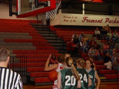 Girls Junior Varsity Basketball - 2005-2006 - 11/1/2005 vs West Michigan Christian