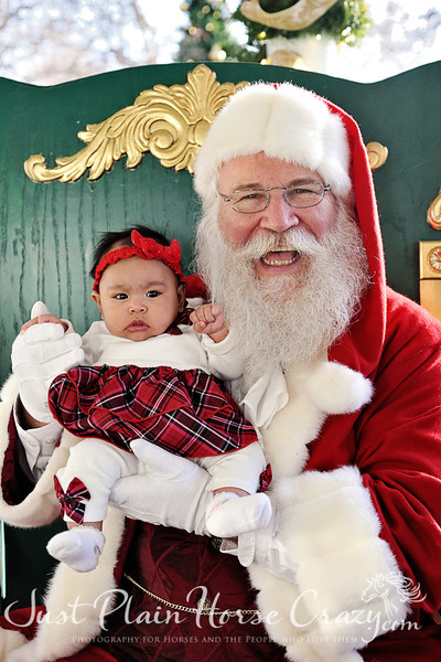 Pictures with Santa - Willow Glen, Dec 9, 2012