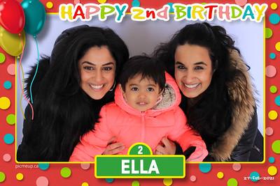 2021-02-27 - Ella's 2nd Birthday Party