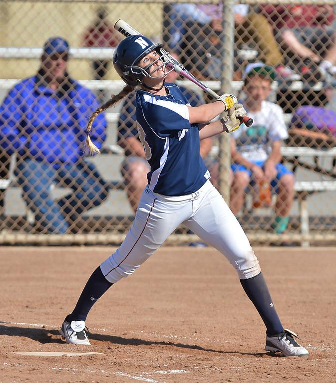 . 0314_SPT_TDB_L_CAR-NORTH--- Torrance, CALIFORNIA--3/13/13--- Staff Photo: Robert Casillas / LANG--- Carson at North Torrance softball. North\'s Megan Ottino