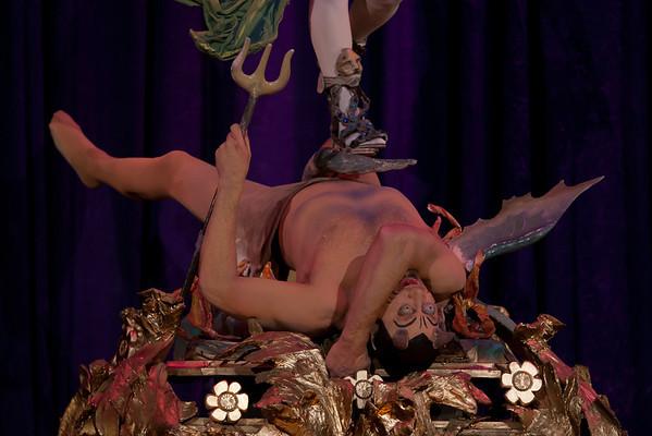 Archangel Michael Casting Satan into Hell