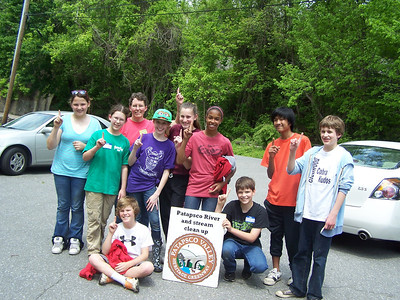 5.1.12 River Cleanup in Patapsco State Park Avalon Area Near Lost Lake in Baltimore County