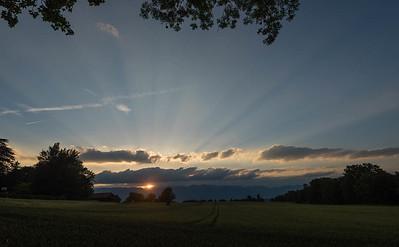 Sunset - Chemin Machéry