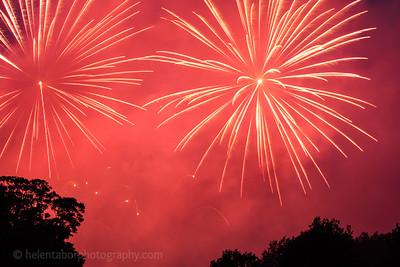 Newby Hall fireworks, 2017