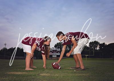 Tanner, Lauren & Annabelle ~ KHS Football