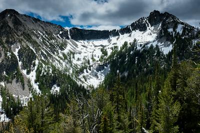 Upper Eagle Lake and Twisp