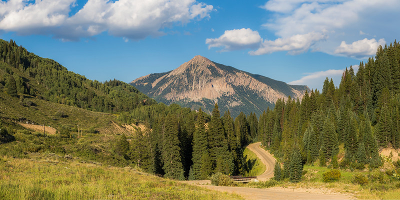 Mount Crested Butte 2x1 Panorama
