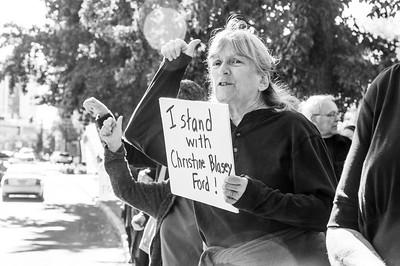 #BelieveSurvivors protest in Ashland