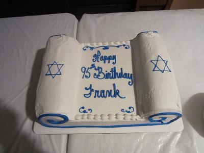 Frank's 95th B-Day
