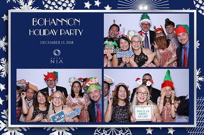 Bohannon Holiday Party 2018